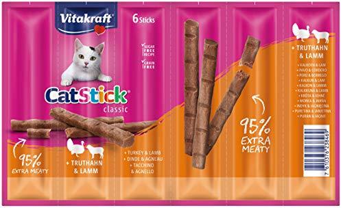 Cat-Stick - Mini Pavo y Cordero P/6