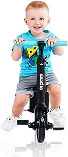 致暖Warmest 滑板车儿童 可坐 2-3-6岁小孩三轮 宝宝滑滑车 多功能 nadle系列(Rose红)