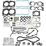 Timing Belt Kit compatible with Subaru Forester 99-10 / Impreza 99-11 With Cylinder Head Bolt and Head Gasket Set