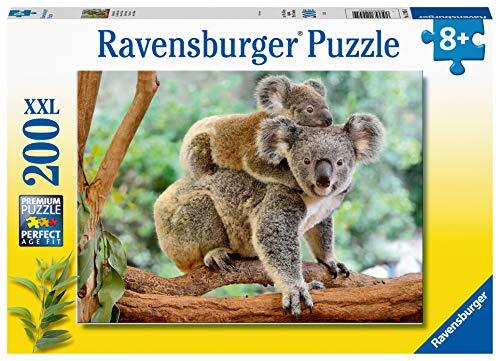 Ravensburger 129454 Amore di Koala, Puzzle 200 Pezzi XXL per Bambini, Età Raccomandata 8+