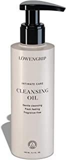 Löwengrip Intimate Care Gentle Cleansing Oil - Meadowfoam Seed Oil. Relieves shaving irritation. Rehydrating effect. Sweden's Fastest Growing Beauty Brand. Fragrance Free - 150 ml