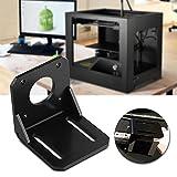 VBESTLIFE 3DプリンタLブラケット スチール製マウント ブラケット 3Dプリンタ部品 L字形 ホルダーファスナー 3Dプリンタ42mmステッパーモーター対応