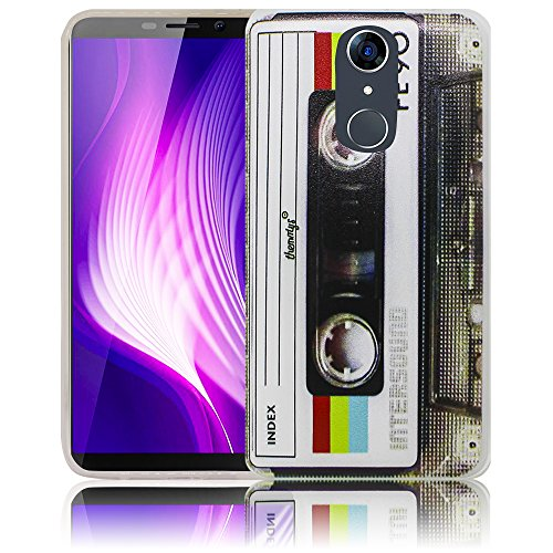 thematys® Cubot Nova Cassette Retro Funda de Silicona para el teléfono Celular - A Prueba de luz, Impacto y Polvo - Funda para Smartphone