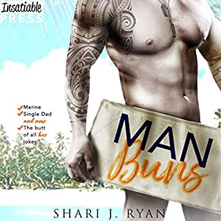Man Buns audiobook cover art