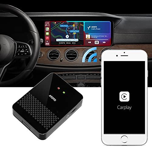 Adaptador CarPlay inalámbrico ATOTO AD3 - Convierta la Cable de la Unidad...