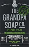 Grandpa's Soap Pine Tar 4.25 oz (8-Pack)