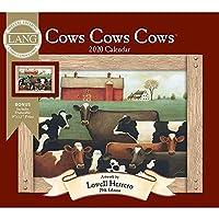 Lang Company 2020 Cows Cows Cows スペシャルエディション ウォールカレンダー