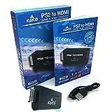 Kaico Edition - Playstation 2 PS2 HDMI Converter - PS2 to HDMI - Component to HDMI Converter Adaptor - Play Playstation 2 on Your HDMI TV - Retro Gaming PS2 HDMI Converter Adapter…