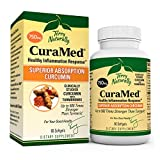 Terry Naturally CuraMed 750 mg - 60 Softgels - Superior Absorption BCM-95 Curcumin Supplement , Promotes Healthy Inflammation Response - Non-GMO , Gluten-Free , Halal - 60 Servings