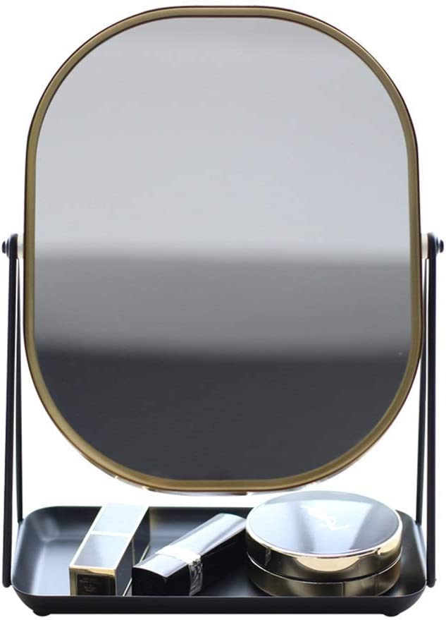 WY-YAN Animer and price revision Finally popular brand HZR Countertop Vanity Mirrors Nordic Style Makeup Mirror