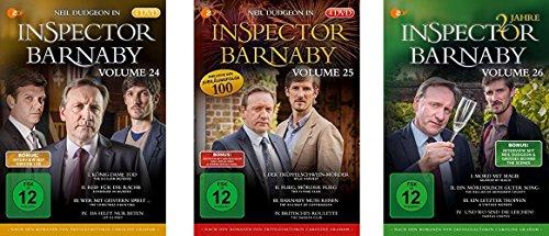 Inspector Barnaby, Vols. 24-26 (12 DVDs)