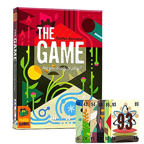 KCH para 1 a 5 Jugadores Juego De Mesa Juegos para Adultos Y NiñOs Juego De Cartas Cartas De póQuer Juego De Tablero Playing Card