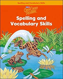 Open Court Reading: Spelling and Vocabulary Skills, Level 1