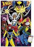 Trends International Poster Mount Marvel Comics - The X-Men - Awesome, 22.375' x 34', Poster & Mount Bundle