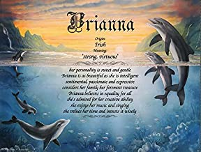 Personalized First Name Meaning Print - Dolphins Cove