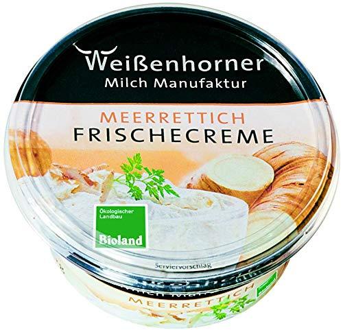 Weißenhorner Milch Manufak Bio WH MM Bioland FrischeCreme Meerrettich (6 x 150 gr)