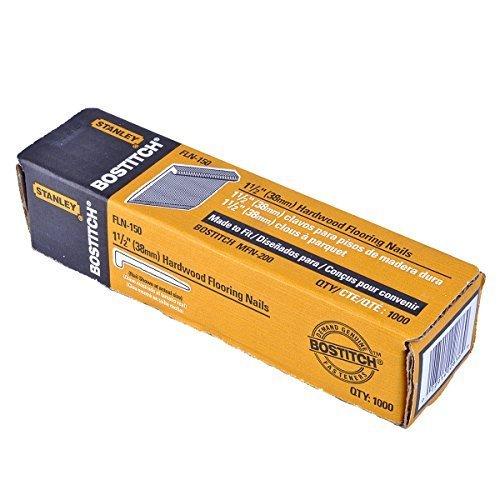 BOSTITCH FLN-150 1-1/2-Inch Flooring L-Nails, 1000-Per Box by BOSTITCH