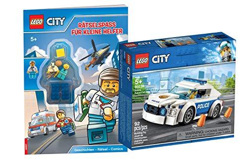 Collectix Lego City 60239 - Juego de carrito de rayas y acce