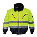 Portwest PJ50 - Hi-Vis chaqueta experimental, color, talla Large
