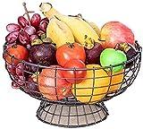Estante de sequía del plato de la cocina, Snack Dip Bowls Dishware Black Metal Fruit Basket, Multifunción Sala de estar Mesa de centro Almacenamiento de cocina Rack Placa de fruta Snack Candy Snack Ba