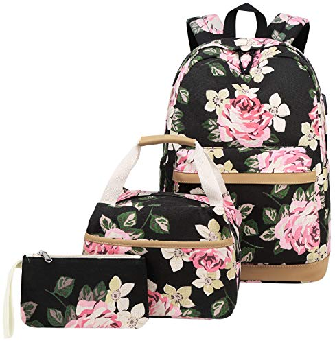Abshoo Cute Women Canvas Floral Backpack...