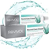 ReVIVOL-XR 5% Lidocaine Hemorrhoid Cream with Soothing Aloe - Topical Ointment for Pain Relief and Itching - Get Immediate Fast-Acting Treatment - Made in USA (No Finger COTS)