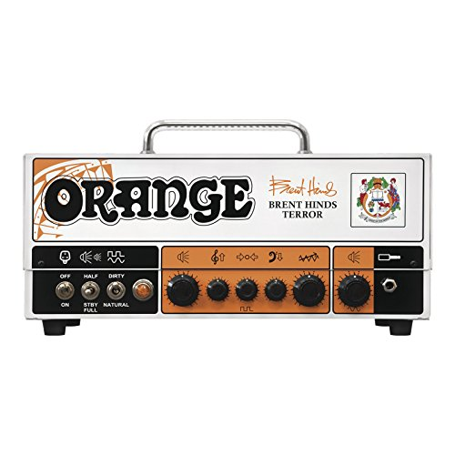 Best Deals! Orange Amps 4 String Electric Guitar Pack, Orange (BRENT-HINDS-TERROR)