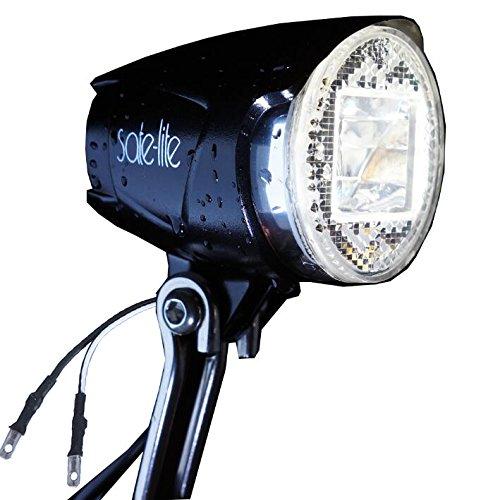 Fahrradlicht,LED-Scheinwerfer,Wasserdicht Fahrradlichter Fahrrad Licht Fahrradlampe,Fahrradbeleuchtung für Fahrradbeleuchtung für Nabendynamo 40 Lux 400 Lumen Rücklichtverbinder