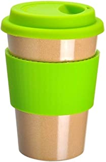 ERTONGHUANBAOCANJU Green Thermal Insulation Office Creative Cup (Color : Green)