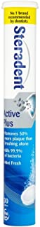 Steradent Active Plus Denture Daily Cleaner, 30 Tablets