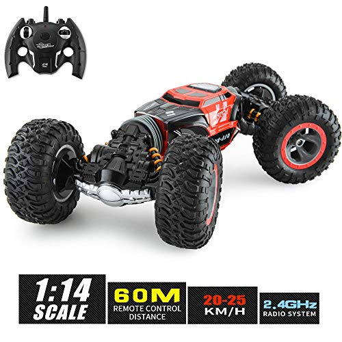 XIXOV RC Car, 4X4 Kids Off Road 1:14 Large Size Transform Remote Control Car High Speed Fast Racing Monster Vehicle Hobby Truck Electric Toy with Rechargeable Batteries for Boys Teens Adults