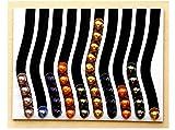 distributore per capsule tipo nespresso (nero e bianco)