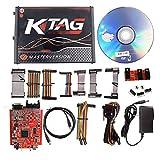 KTAG V7.020 V2.23 Car ECU Programming Tool Kit Online Master No Token Limited RED