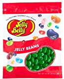 Jelly Belly Green Apple Jelly Beans - 1 Pound (16 Ounces) Resealable Bag - Genuine, Official, Straight from the Source