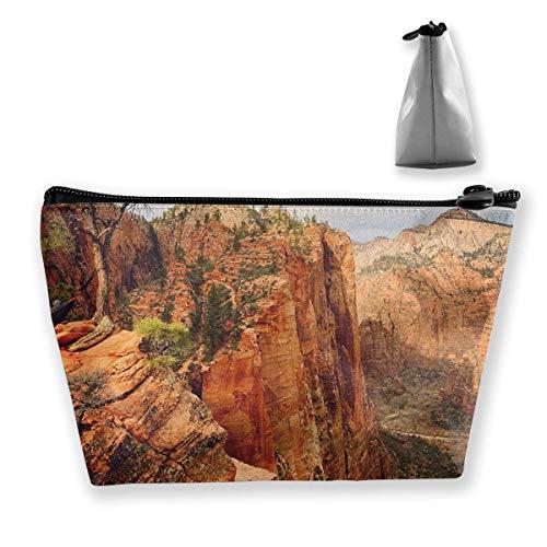 HängematteLiving Angels Landing Zion National Park Utah Schminktasche Reißverschluss Organizer Tragbare Kosmetiktaschen Frauen