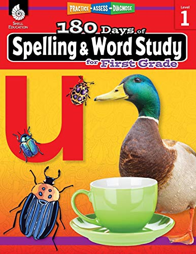 Compare Textbook Prices for 180 Days of Spelling and Word Study: Grade 1 - Daily Spelling Workbook for Classroom and Home, Cool and Fun Sight Word Practice, Elementary School ... Created by Teachers 180 Days of Practice 1 Edition ISBN 9781425833091 by Shireen Pesez Rhoades