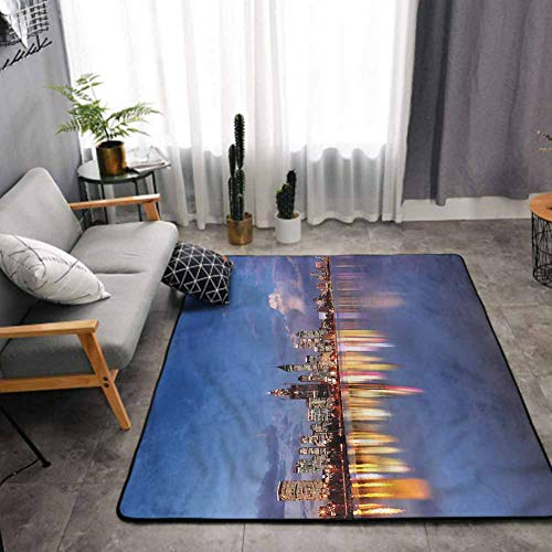 Modern Area Rug for Living Room Western Australia at Night Carpet Area Rugs Home Decor 3 x 5 Feet