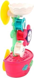 TOYANDONA Shower Spraying Toy Sunflower Kettle Toy Bathtime Spray Water Toy Bathtub Toy for Home Hotel Bathroom Bathtub Po...