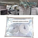 SZT 透明カーテン 車用 隔離カーテン 車用カーテン 1点セット 高透明シート 花粉症対策 飛沫防止 PVCフィルム 保護フィルム 保護カバー 取り付け簡単 耐久性 自分と客を保護 1.37x1.8m
