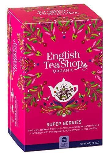 English Tea Shop Tisana ai Frutti Rossi Senza Caffeina Made in Sri Lanka - 1 x 20 Bustine di Tè (40 Grammi)
