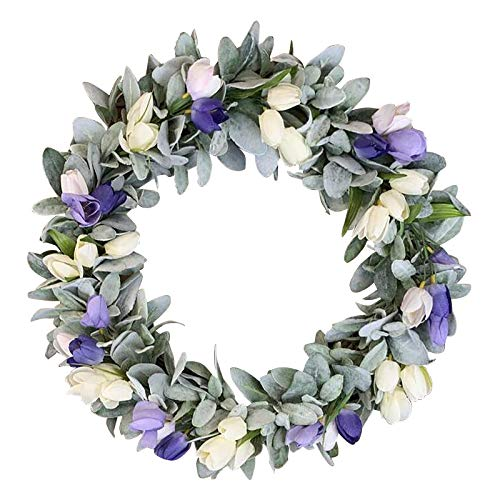AC1 Simulation Leaf Bee SunflowerWreath Artificial Garland Hanging Pendants Wedding