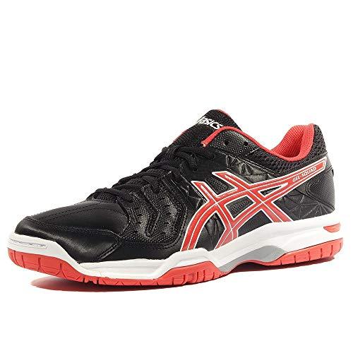 Asics Gel Squad - Zapatillas de deporte, negro y rojo, (negro), 49