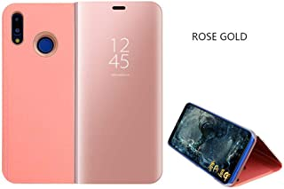 for Xiaomi Mi 8 SE Clear Smart View Flip Cases Redmi Note 5 Pro 4 4X 5A Pro Stand Cover Case 5 Plus Mi Note 3 MI 5X A1 6X Mix 2 Rose Gold for Xiaomi Mi Note 3