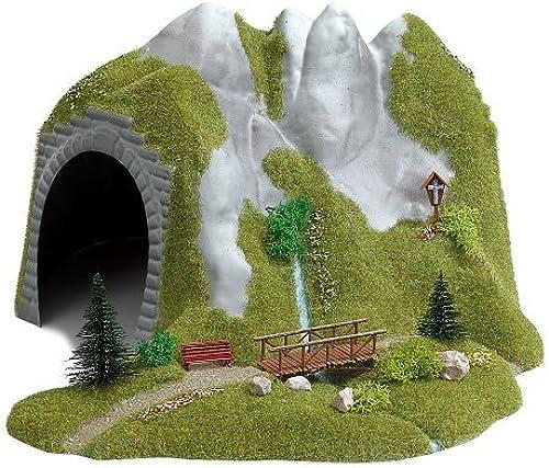 suministramos lo mejor HO Scale Tunnel w Stream Footbridg by by by Busch  ahorra hasta un 70%