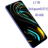 Moviles Libres Baratos 4G GPS, S10(2019) 6.26' FHD 4GB RAM + 64GB ROM Android 8.1 Smartphone Libres Dual SIM, Cámara 12Mp+5Mp Camara Telefono Móvil 4800mAh Bateria Moviles baratos y buenos (Morado)