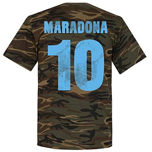 Neapel Maradona Camo T-Shirt - XL