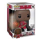 Lotoy Funko Pop Basketball : Bulls - Red Jersey Michael Jordan Vinyl 10inch for NBA Fans Model