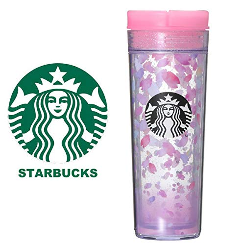 STARBUCKSスターバックススタバタンブラー食器ロゴサクラ桜さくら花びら花弁スプリングギフトSAKURA2019タンブラーペタル473mlコンフェッティキラキラ透明クリア華やか水筒桃ピンク春