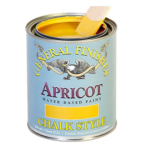 General Finishes MAQ Chalk Style Paint, 1 quart, Apricot
