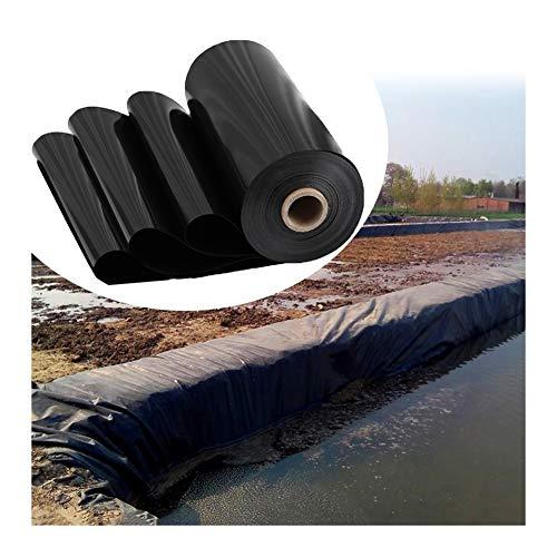 GDMING Forro para Estanque, Resistencia Al Desgarro Negro Membrana, Protección UV Grande Pieles De Estanque para Paisajismo Jardinería Piscina Estanque, Personalizable (Color : Black, Size : 5x10m)